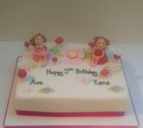Fairies in the Magic Garden Cake